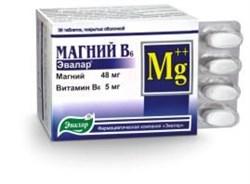 Магний В6 36 таблеток по 1.1гр - фото 3969