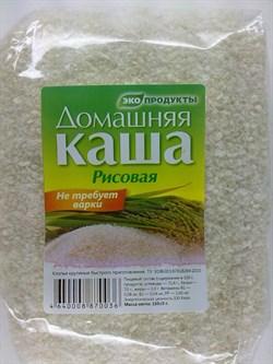 домашняя каша рисовая 150гр. - фото 4132