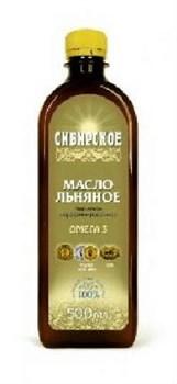 Сибирское льняное масло 500 мл. - фото 4433