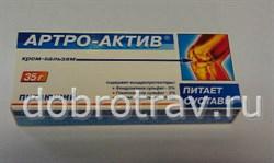 Артро-Актив крем бальзам питающий 35г - фото 4657