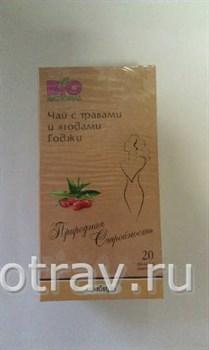Природная стройность чай с травами и ягодами Годжи имбирь 20пак. - фото 4963
