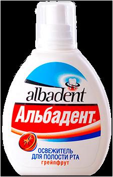 """Освежитель для полости рта """"Альбадент Грейпфрут"""" - фото 5247"""