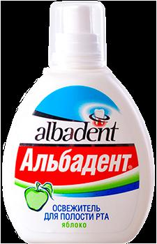 """Освежитель для полости рта """"Альбадент Яблоко"""" - фото 5252"""