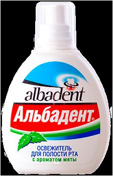 """Освежитель для полости рта """"Альбадент Мята"""" - фото 5254"""