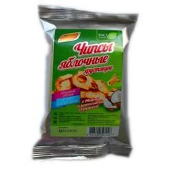 Яблочные чипсы с медом и корицей - фото 5294