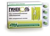 Гинеколь таблеток по 0.24гр