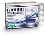 Глицин форте 20 таблеток по 0.6гр