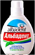 """Освежитель для полости рта """"Альбадент Мята"""""""